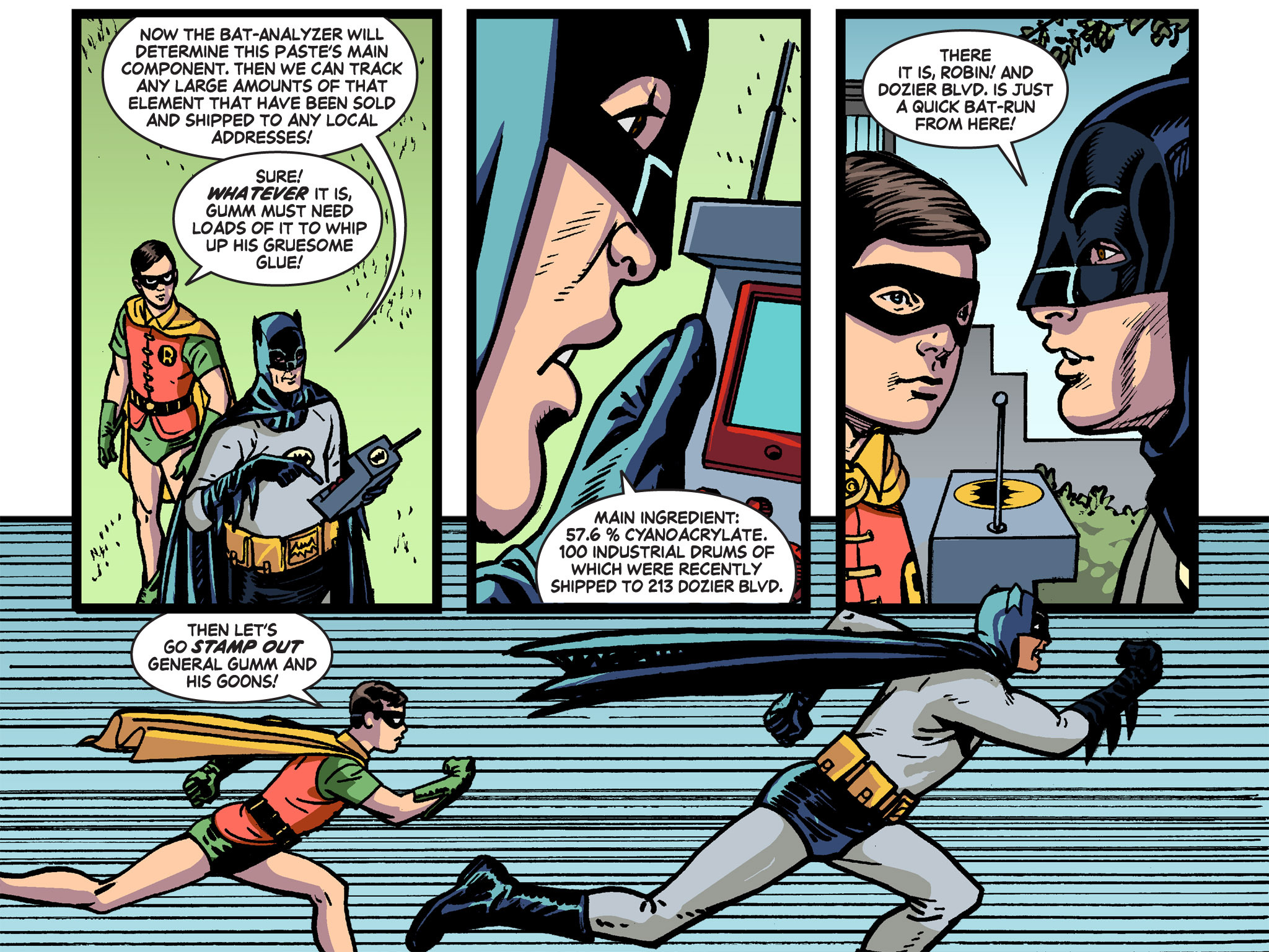 Read online Batman '66 Meets the Green Hornet [II] comic -  Issue #4 - 73