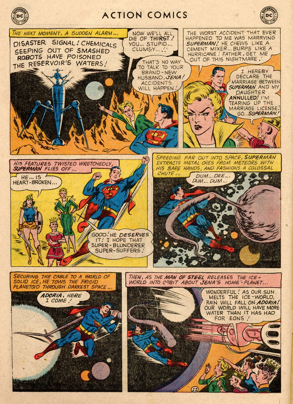 Read online Action Comics (1938) comic -  Issue #266 - 14