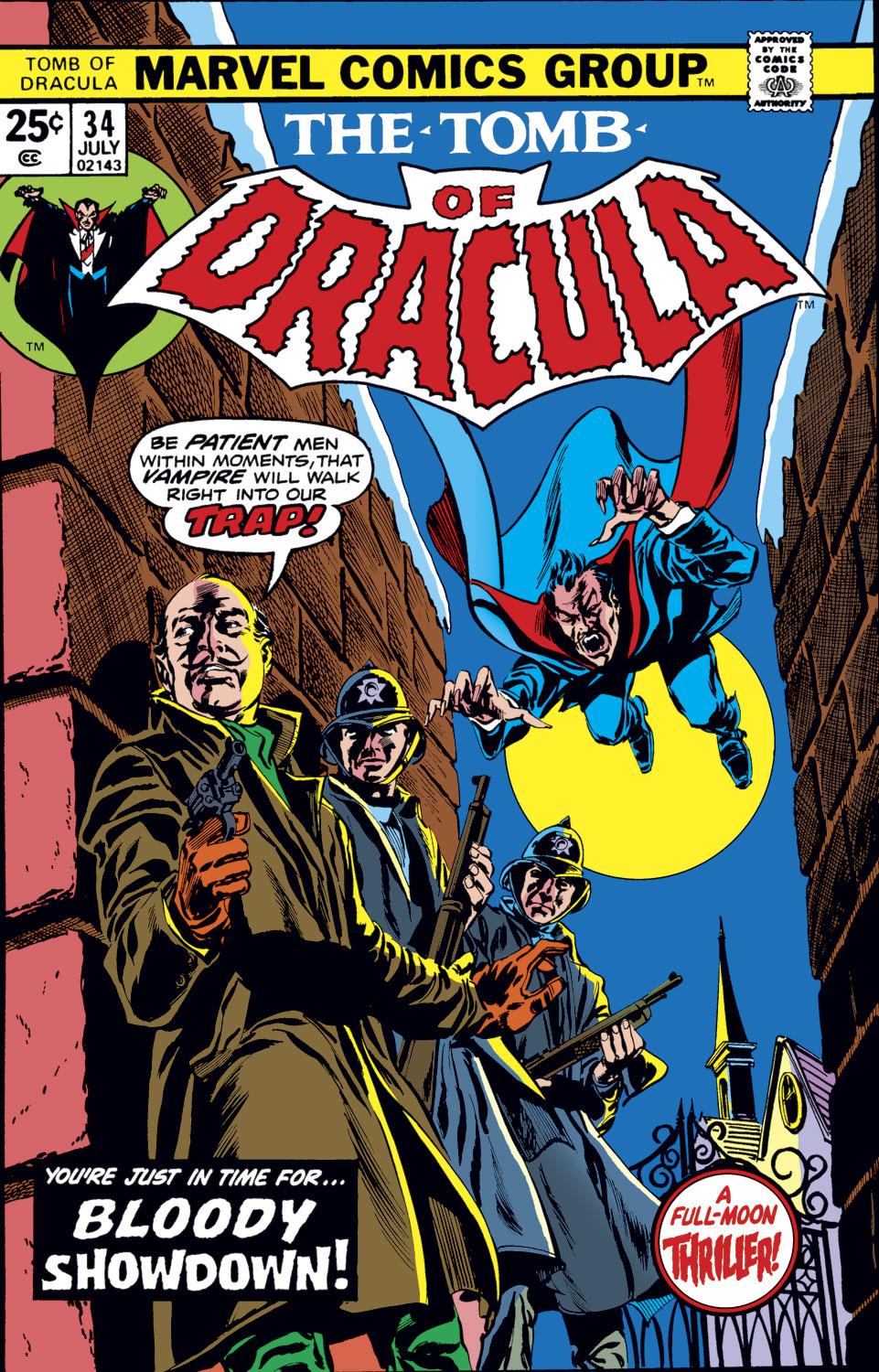 Tomb of Dracula (1972) issue 34 - Page 1