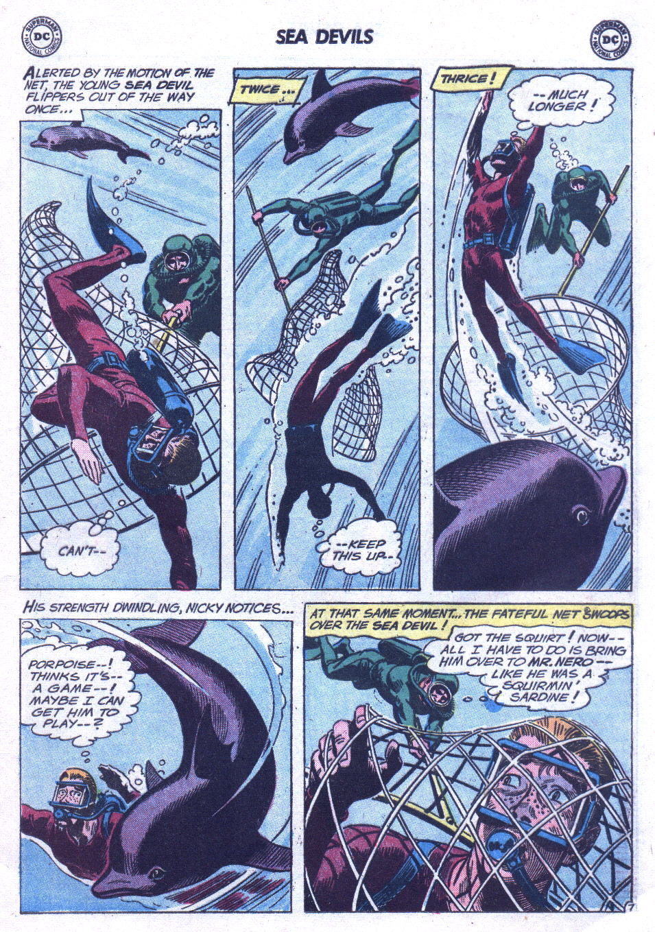 Read online Sea Devils comic -  Issue #3 - 10