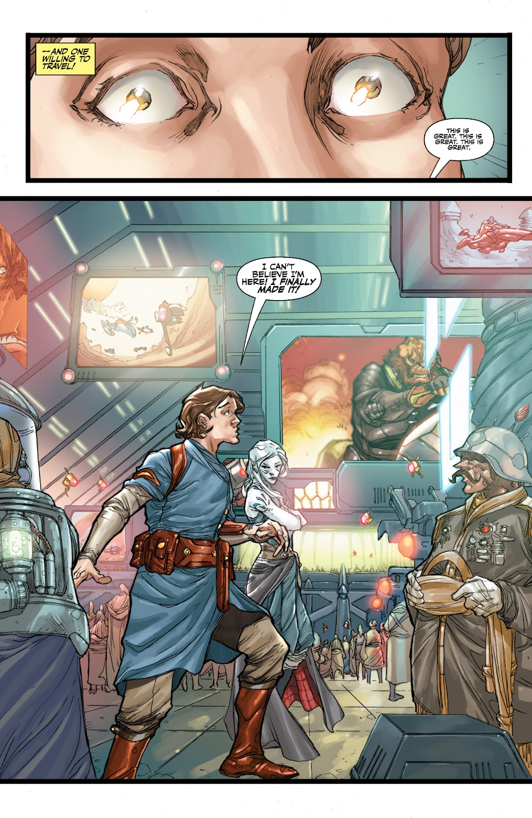 Read online Star Wars Legends: The Old Republic - Epic Collection comic -  Issue # TPB 3 (Part 1) - 36