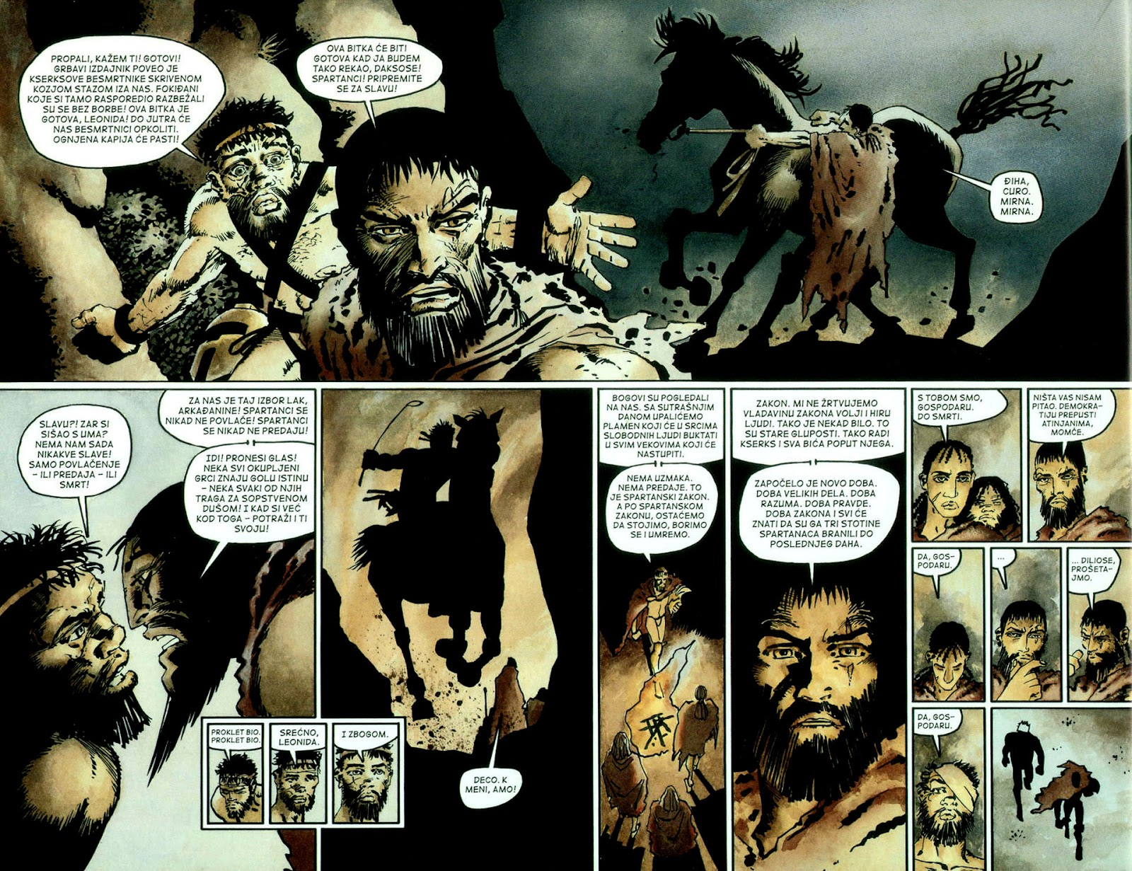 Read online 300 (2007) comic -  Issue # TPB - 69