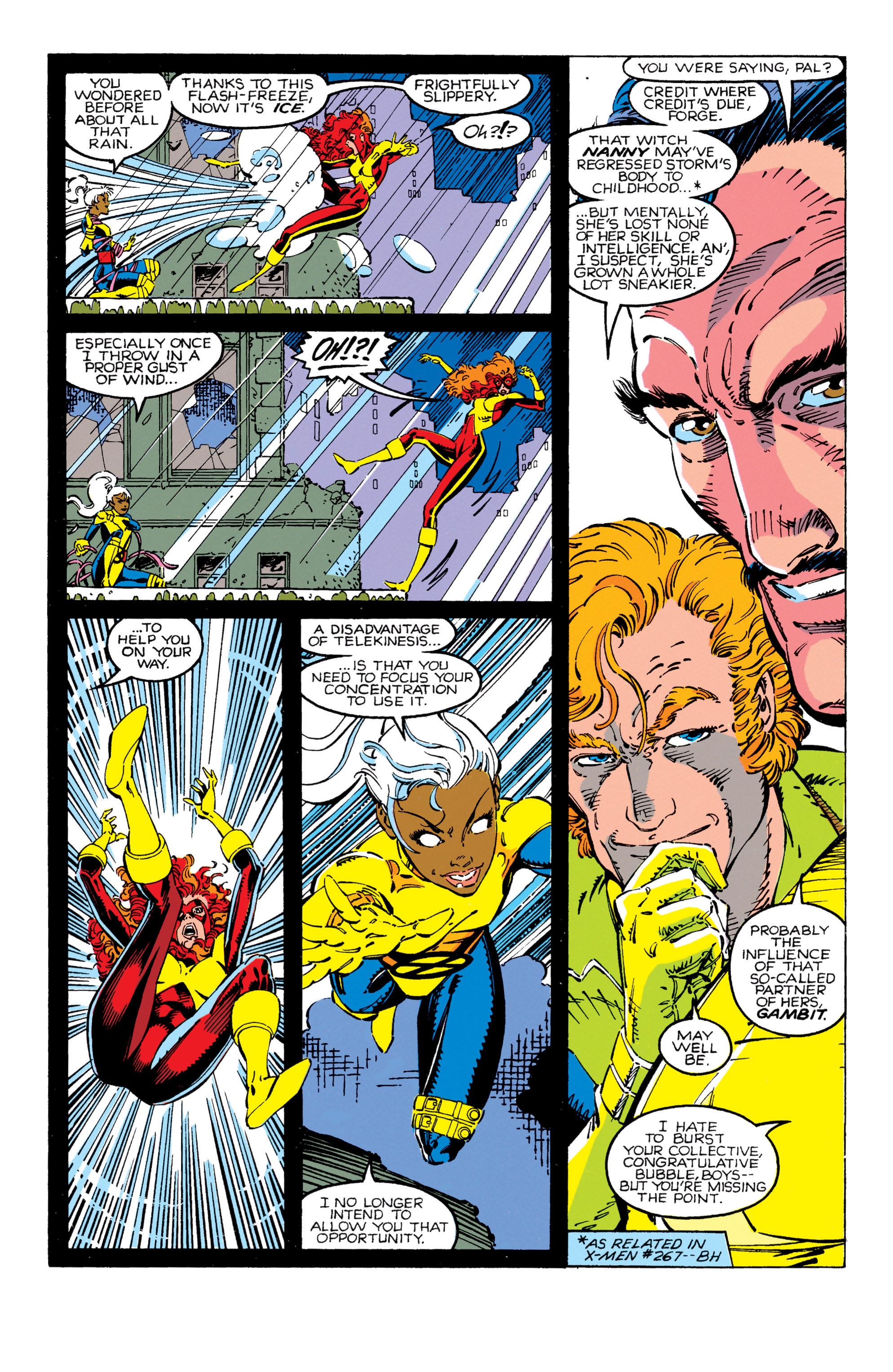 Read online Uncanny X-Men (1963) comic -  Issue #270 - 5