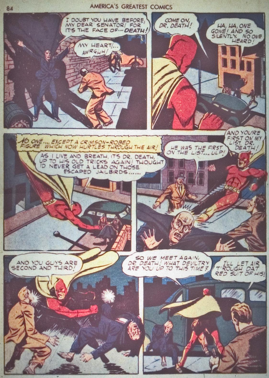 Read online America's Greatest Comics comic -  Issue #1 - 87