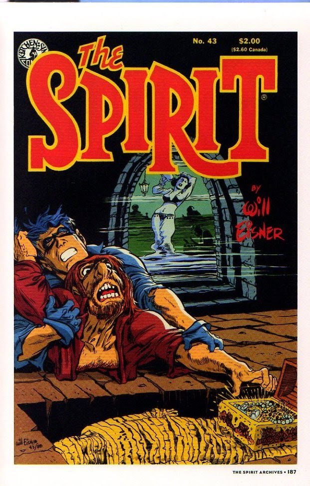 Read online Will Eisner's The Spirit Archives comic -  Issue # TPB 26 (Part 2) - 94