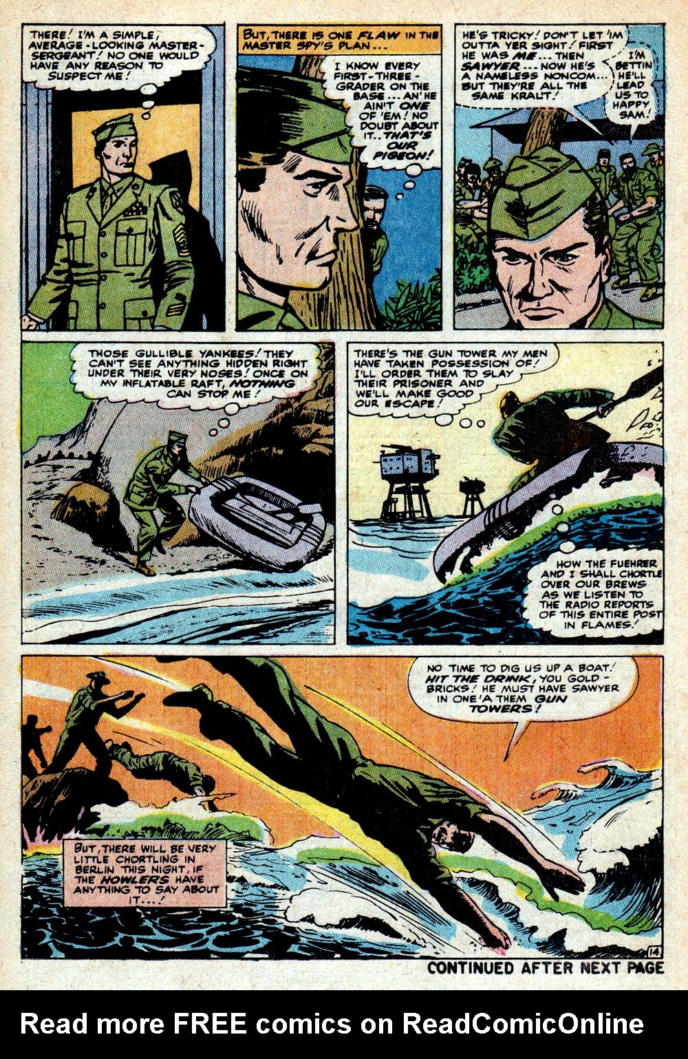 Read online Sgt. Fury comic -  Issue #85 - 21
