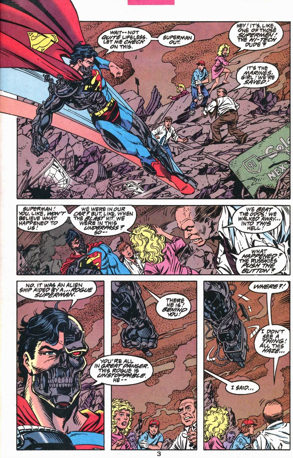 Read online Adventures of Superman (1987) comic -  Issue #503 - 4