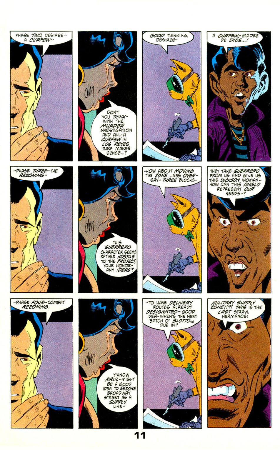 Read online American Flagg! comic -  Issue #29 - 14