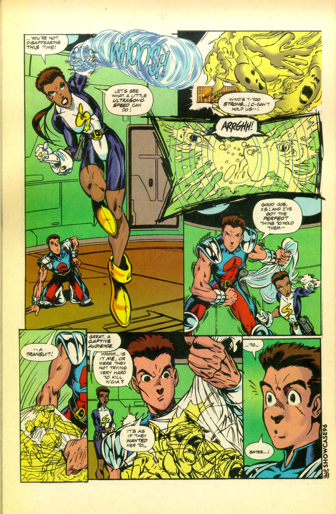 Read online Showcase '96 comic -  Issue #8 - 37