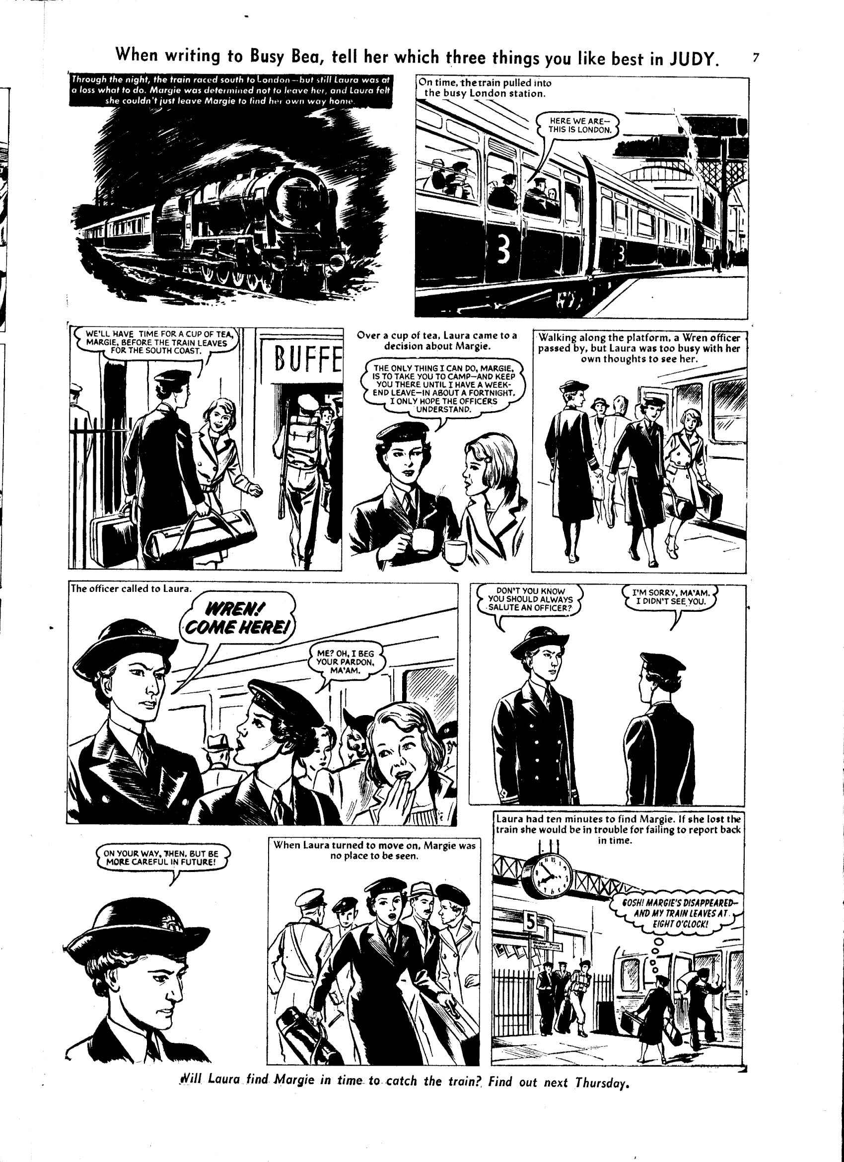 Read online Judy comic -  Issue #55 - 7