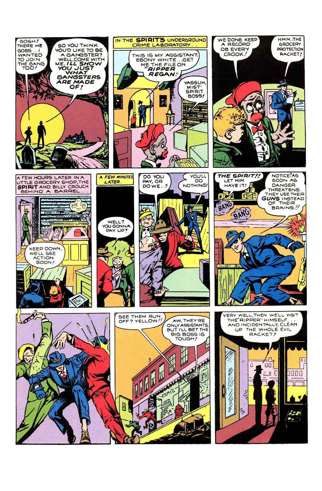 Read online Will Eisner's The Spirit Archives comic -  Issue # TPB 1 (Part 1) - 88