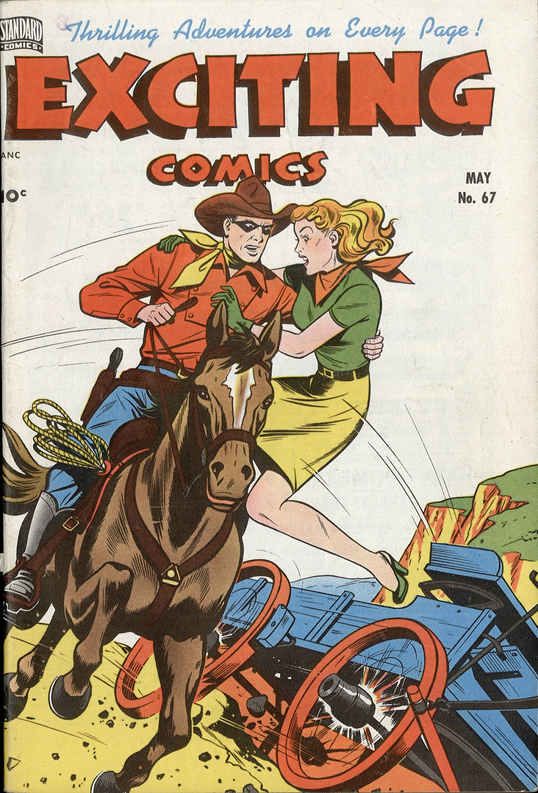 Exciting Comics (1940) issue 67 - Page 1