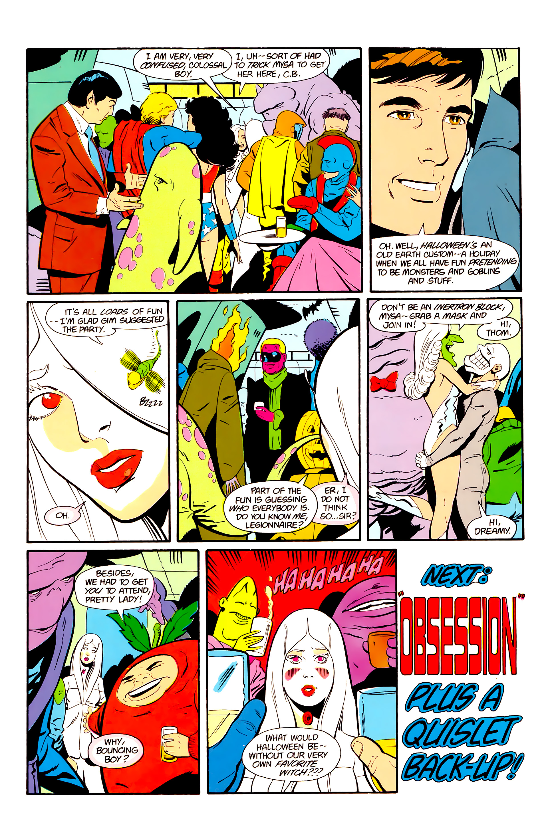 Legion of Super-Heroes (1984) 20 Page 29