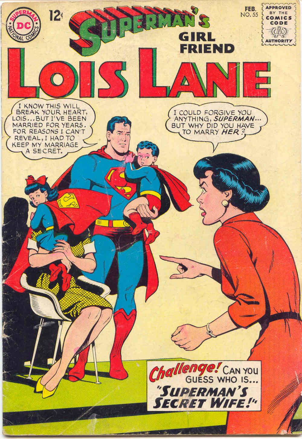 Supermans Girl Friend, Lois Lane 55 Page 1