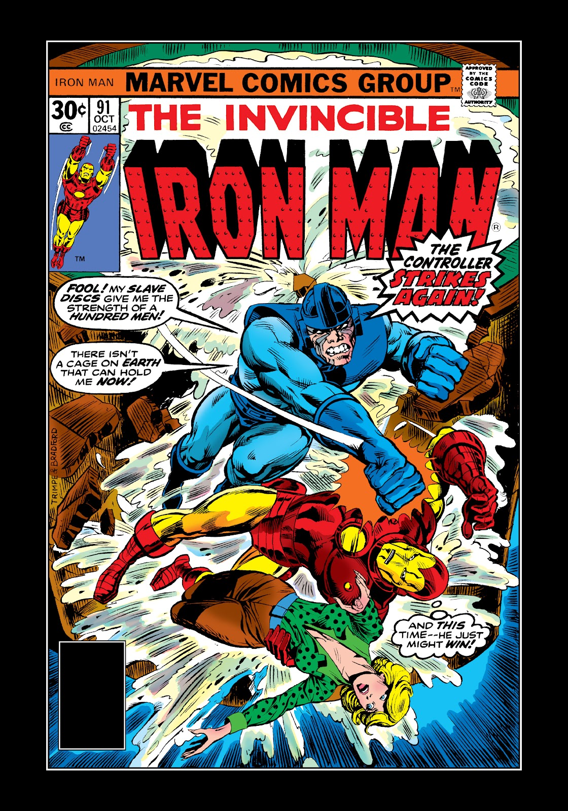 Read online Marvel Masterworks: The Invincible Iron Man comic -  Issue # TPB 11 (Part 3) - 11