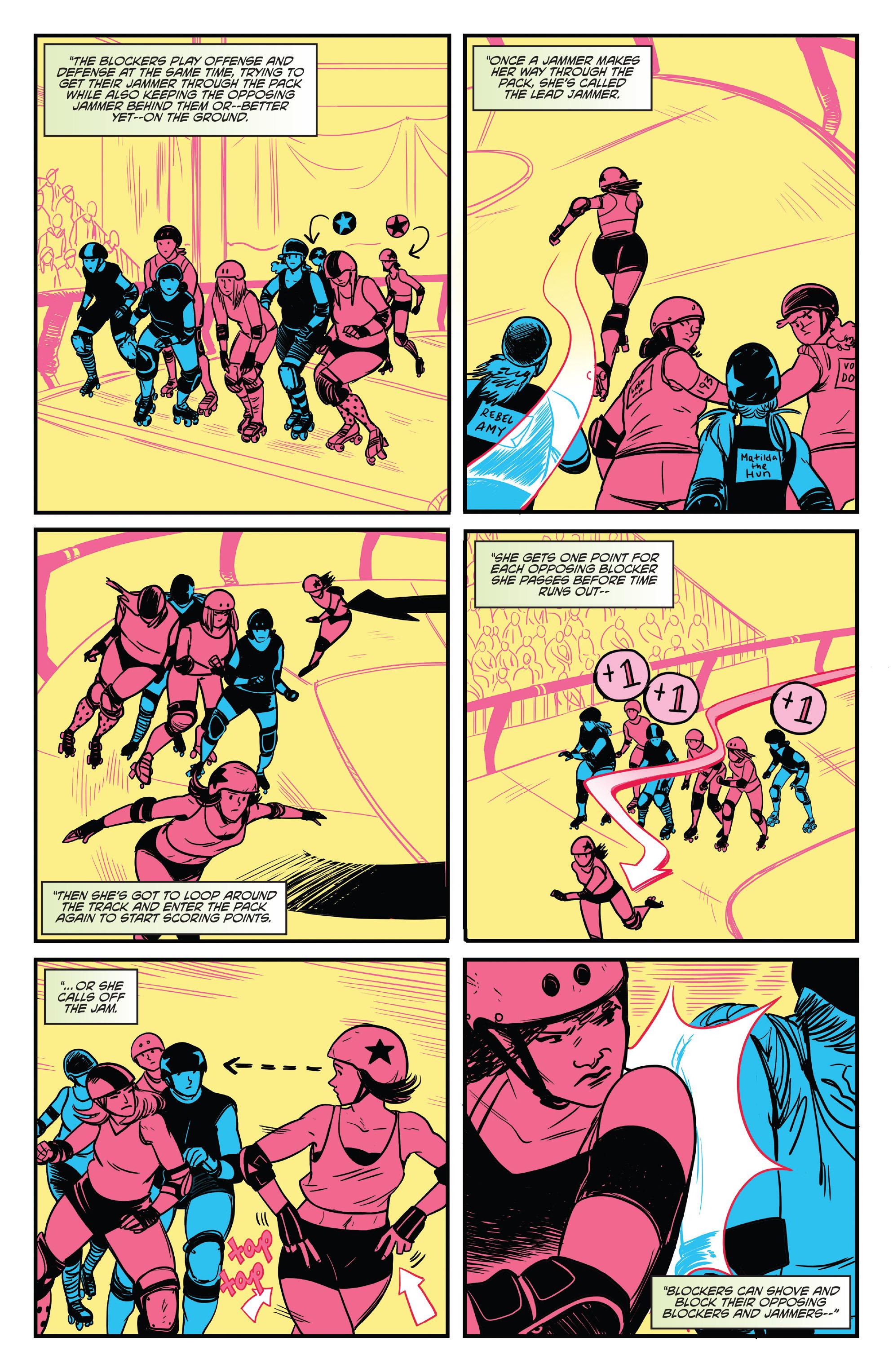 Read online Slam! comic -  Issue #4 - 5
