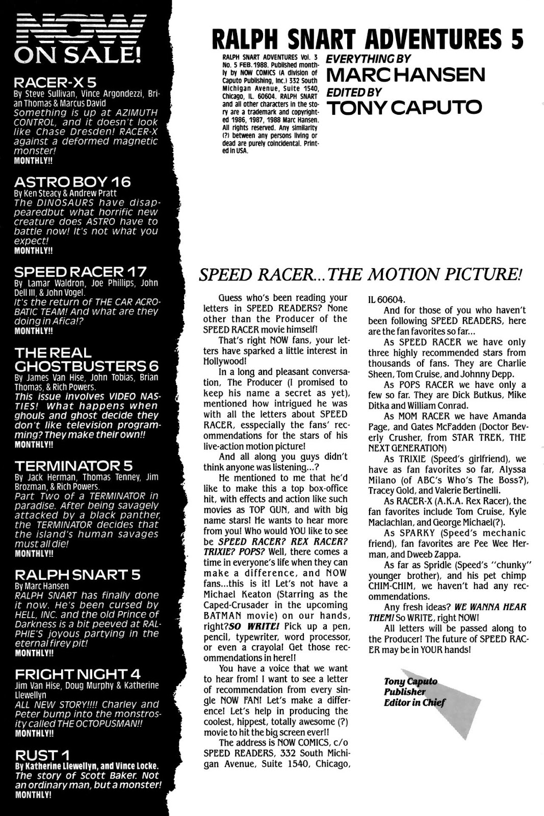 Ralph Snart Adventures (1988) issue 5 - Page 2