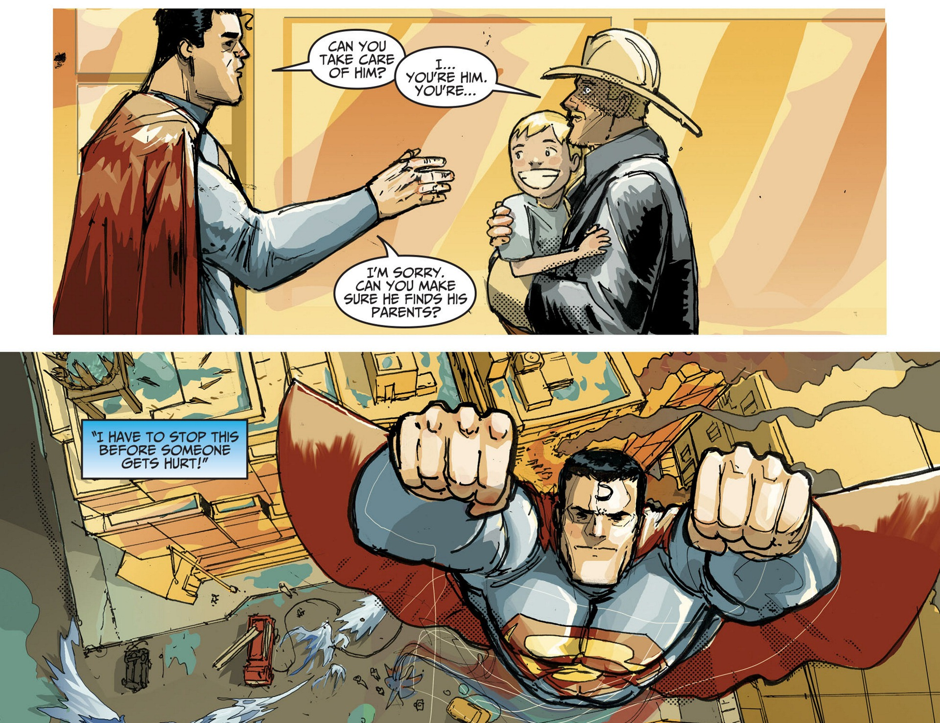 Read online Adventures of Superman [I] comic -  Issue #3 - 10