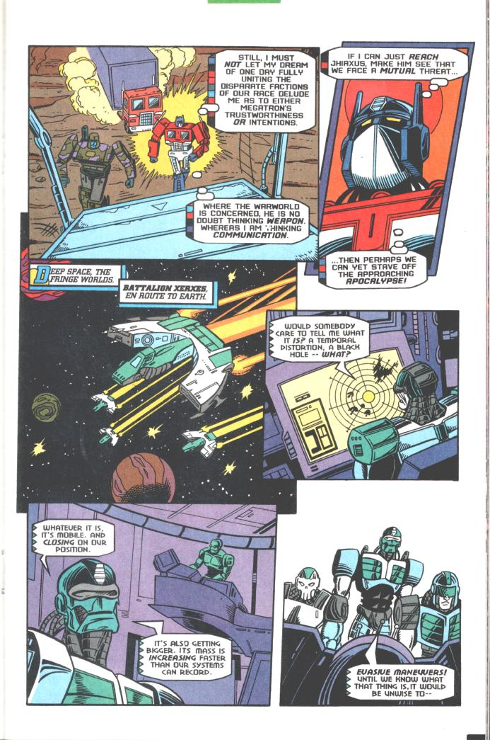 Read online Transformers: Generation 2 comic -  Issue #10 - 15