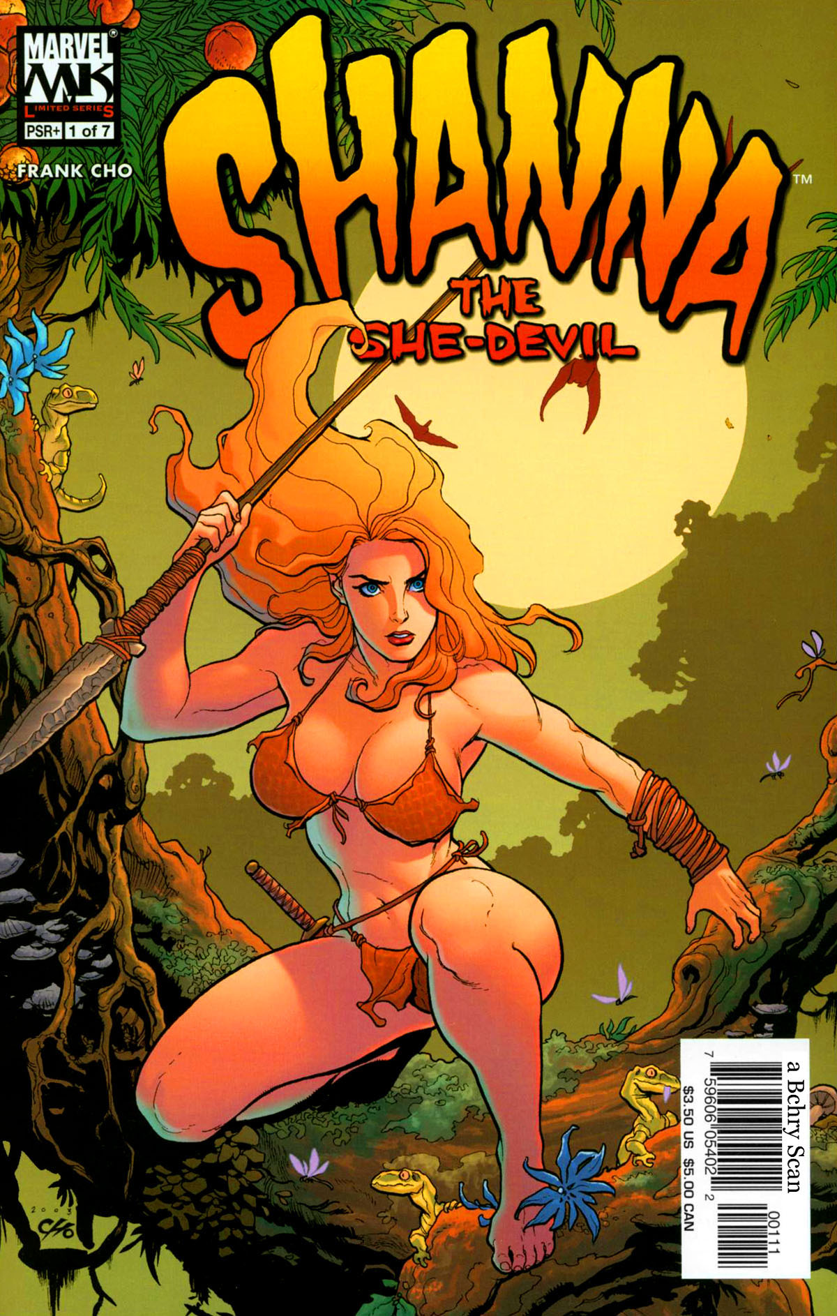Read online Shanna, the She-Devil (2005) comic -  Issue #1 - 1