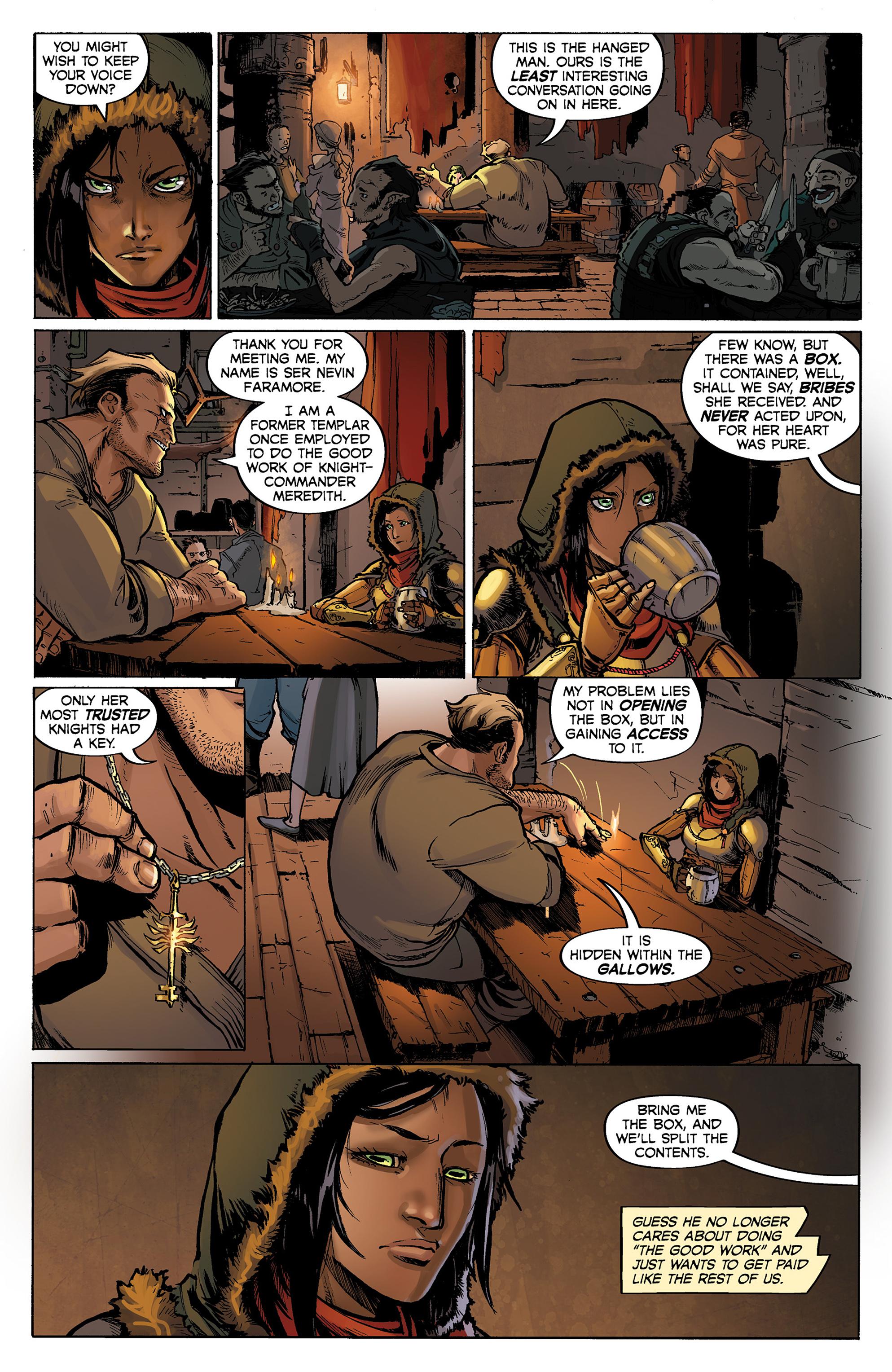 Read online Dragon Age: Knight Errant comic -  Issue #1 - 11