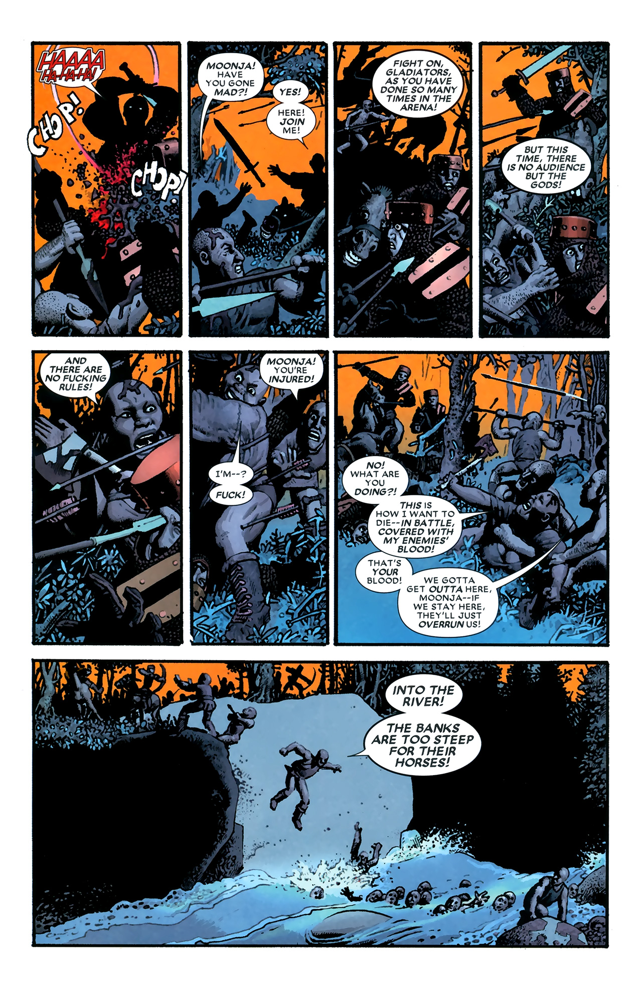 Read online Starr the Slayer comic -  Issue #3 - 19