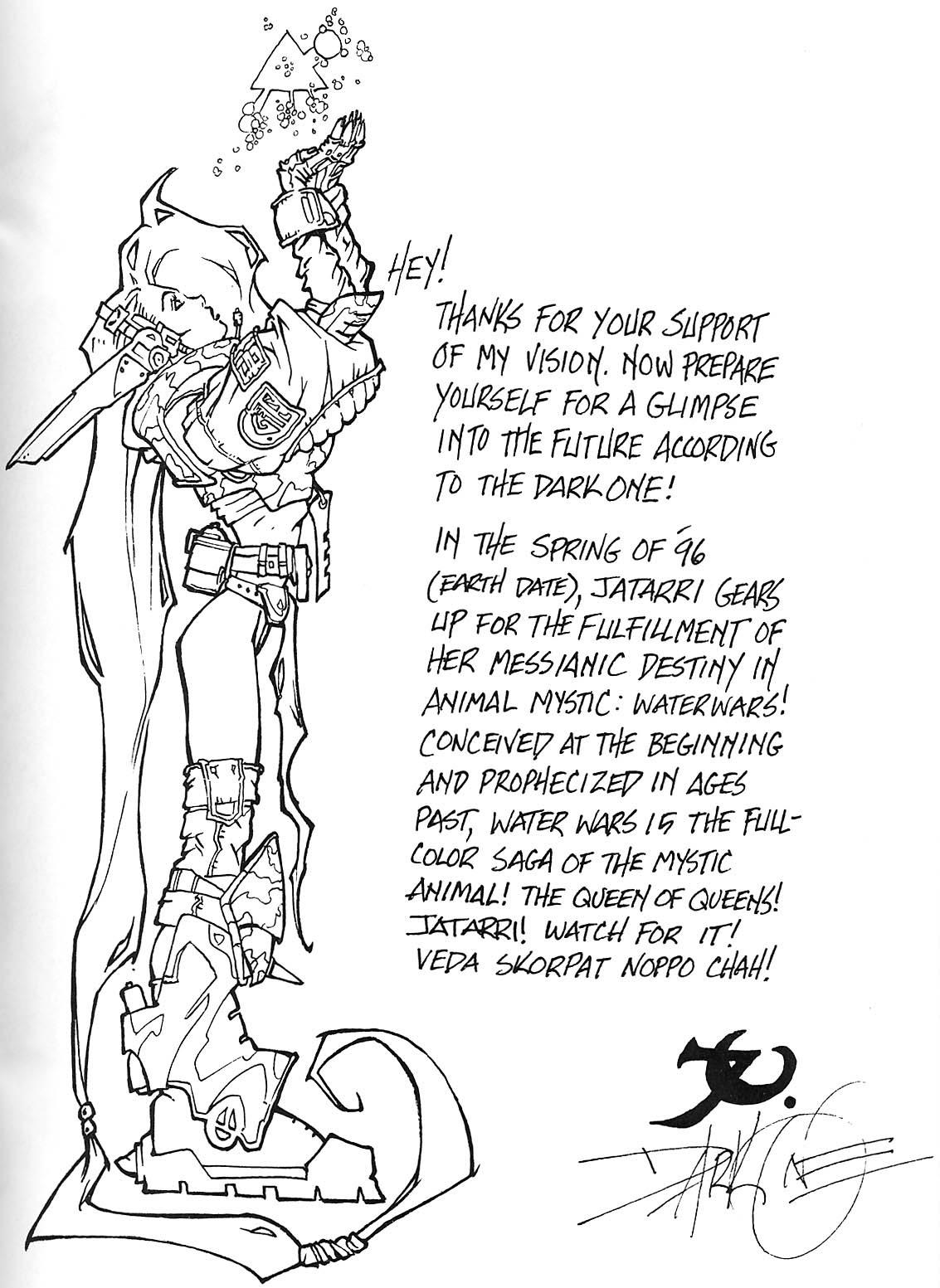 Read online Animal Mystic comic -  Issue #4 - 28
