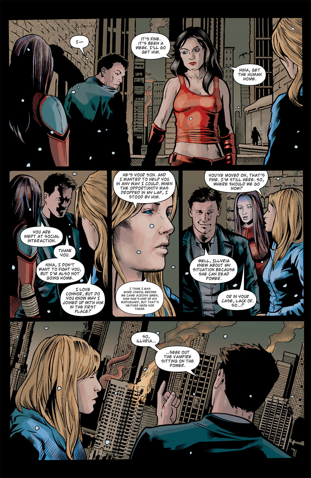 Read online Angel: After The Fall comic -  Issue #10 - 17