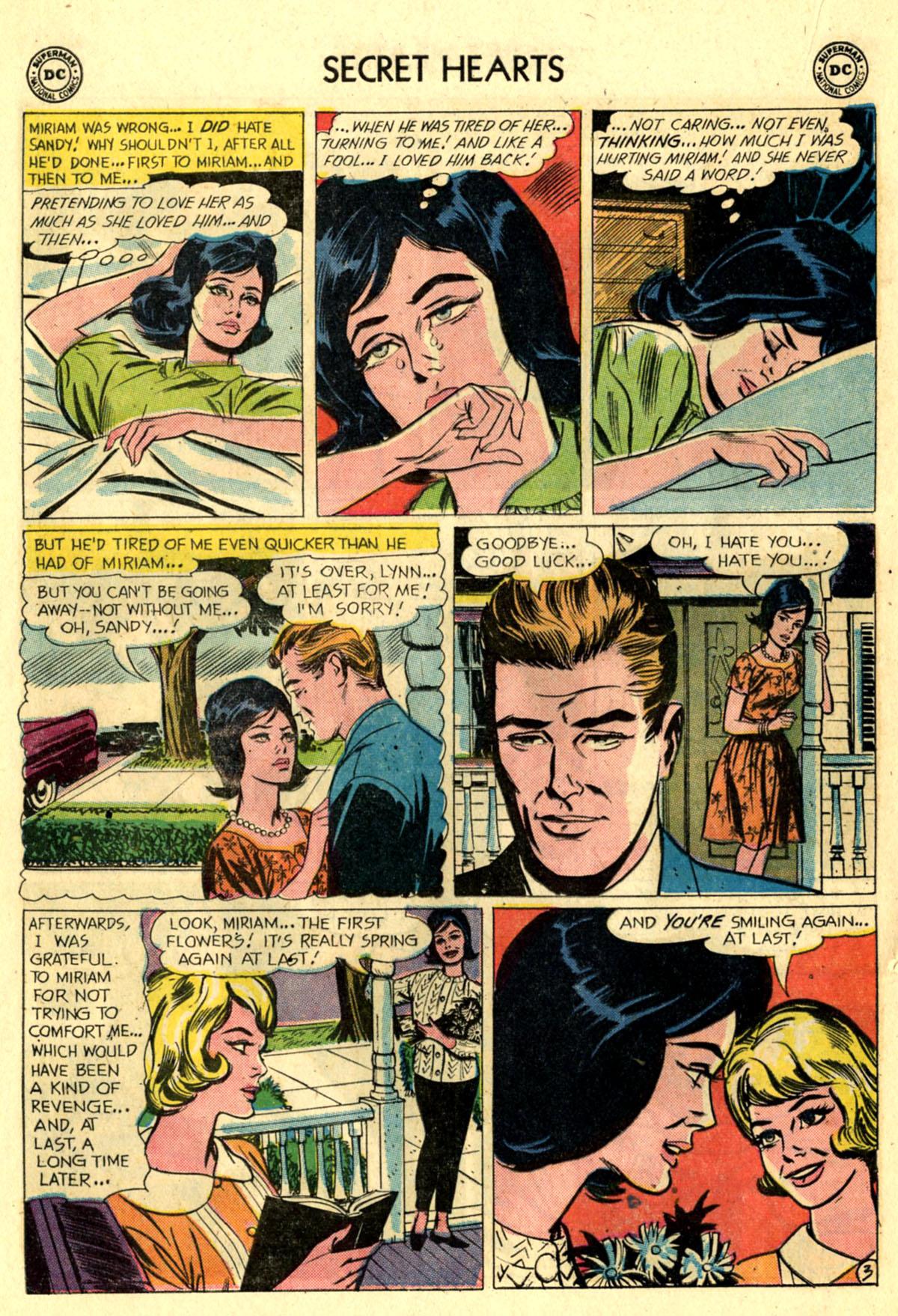Read online Secret Hearts comic -  Issue #83 - 20
