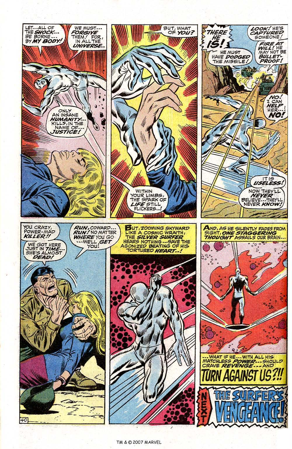 Read online Silver Surfer (1968) comic -  Issue #2 - 52
