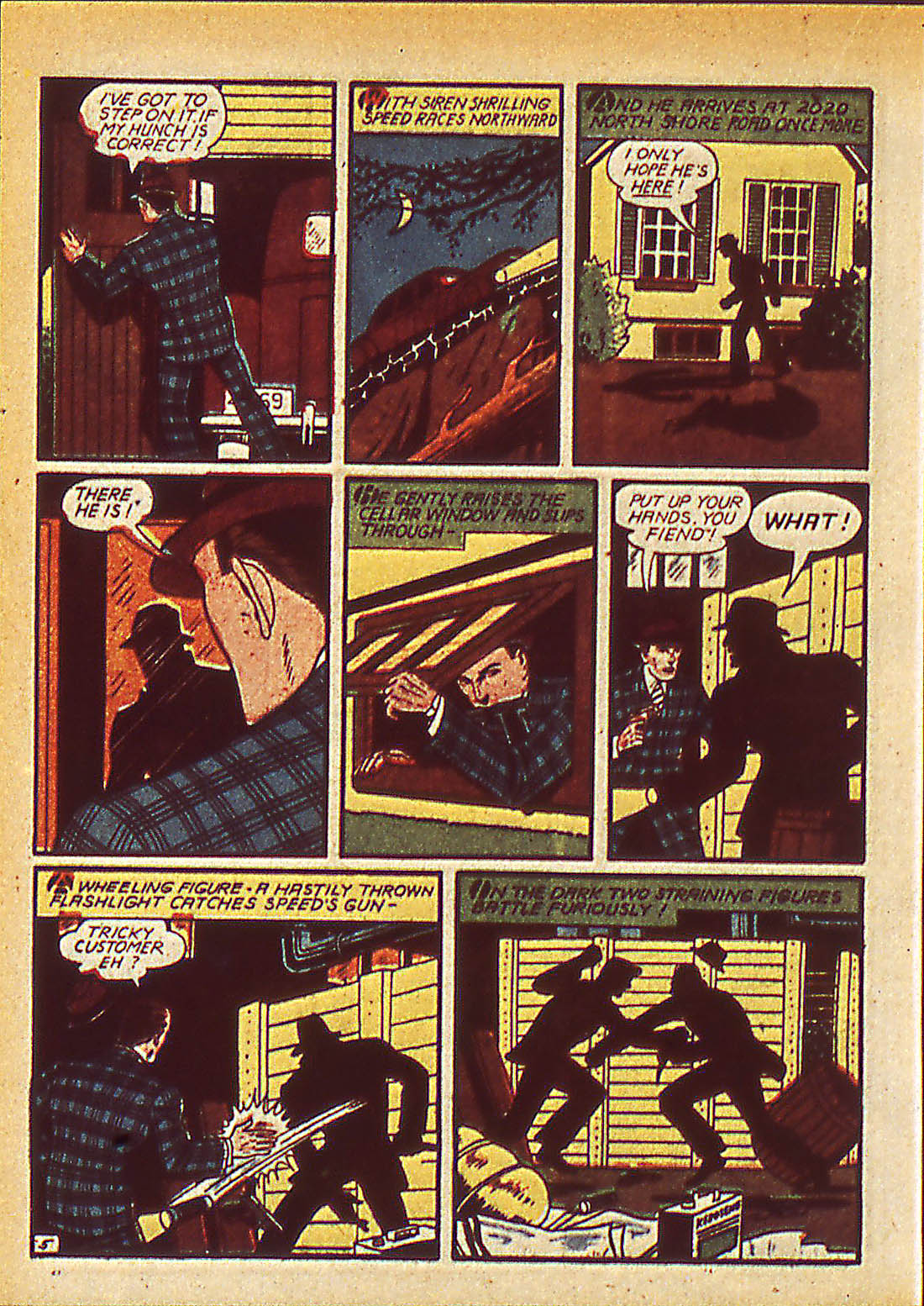 Read online Detective Comics (1937) comic -  Issue #42 - 42