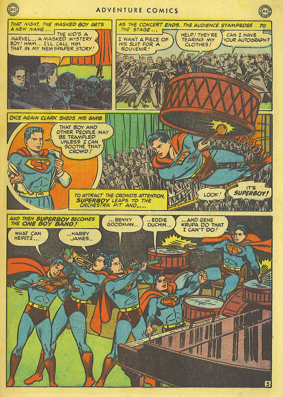 Read online Adventure Comics (1938) comic -  Issue #135 - 7