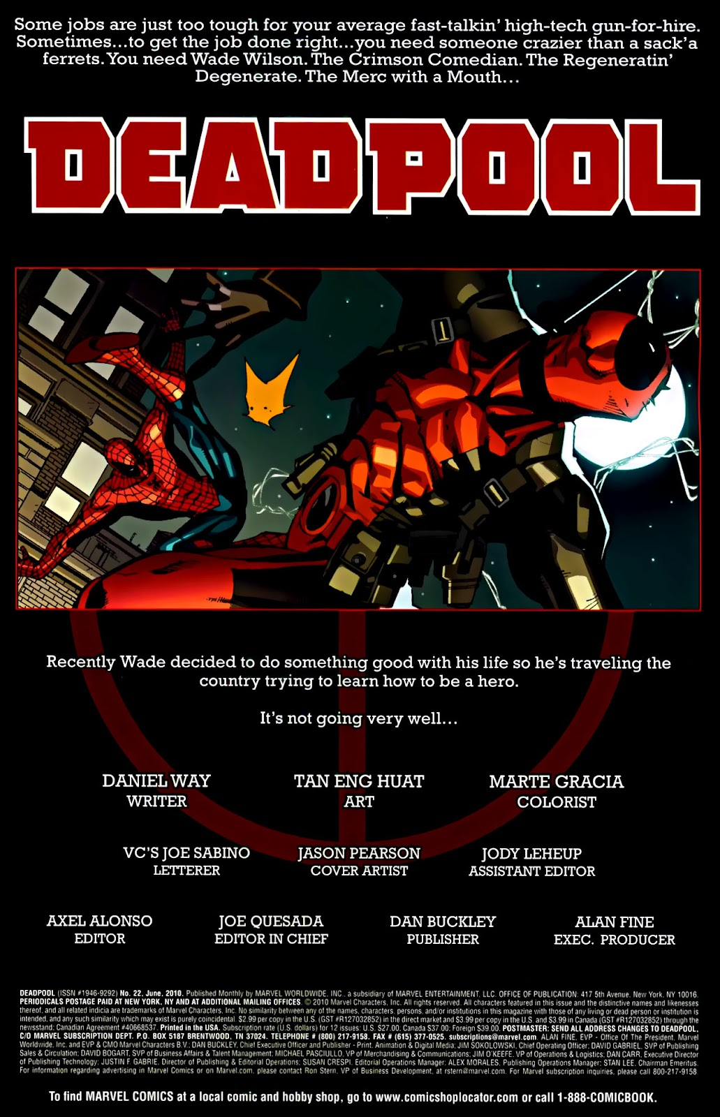 Read online Deadpool (2008) comic -  Issue #22 - 2