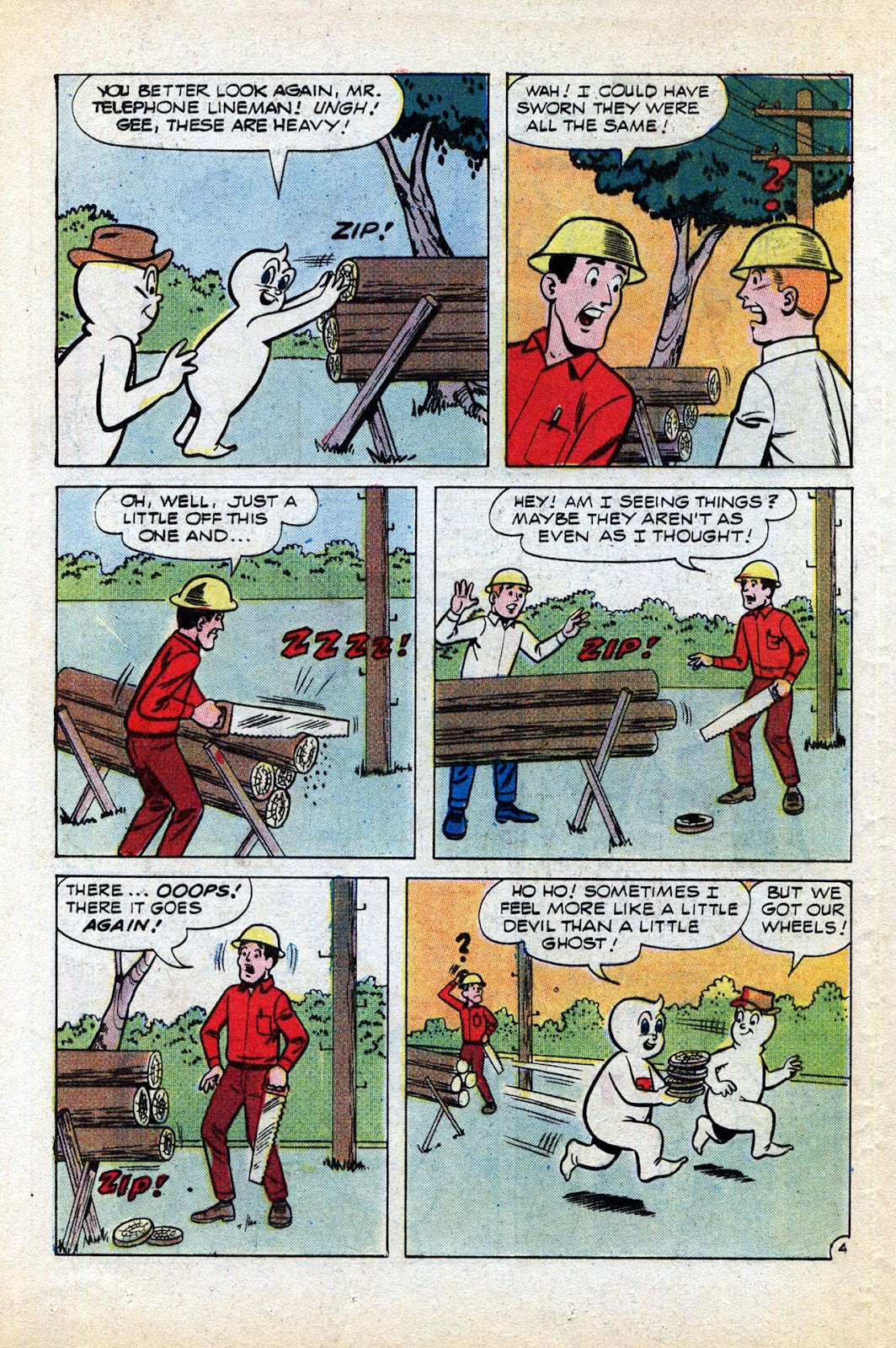 Read online Timmy the Timid Ghost comic -  Issue #1 - 12