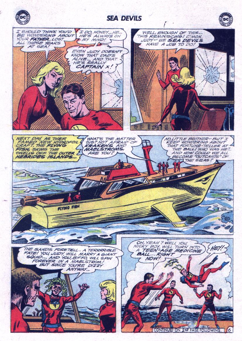 Read online Sea Devils comic -  Issue #23 - 8