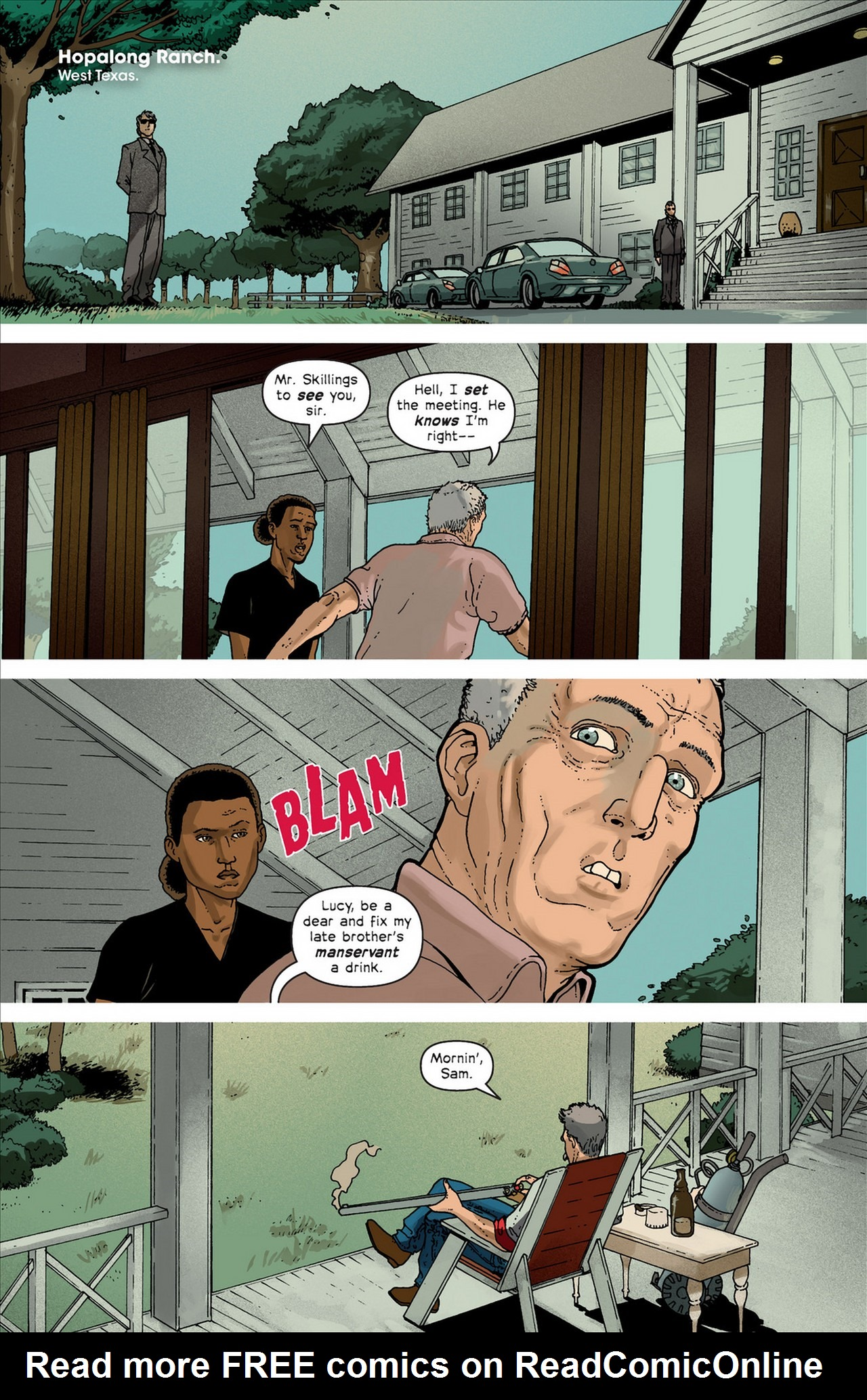 Read online Great Pacific comic -  Issue #4 - 7