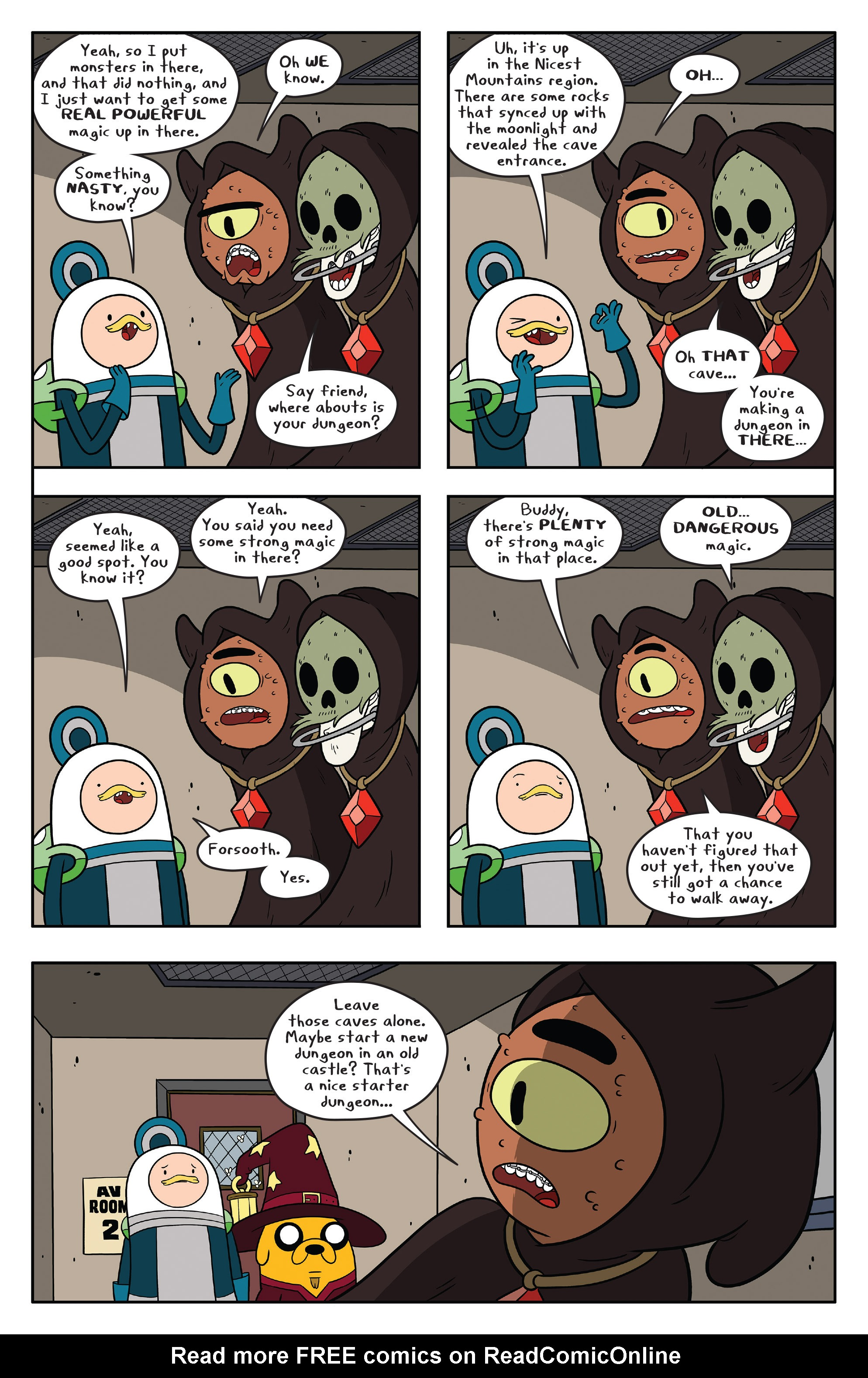 Read online Adventure Time comic -  Issue #58 - 23