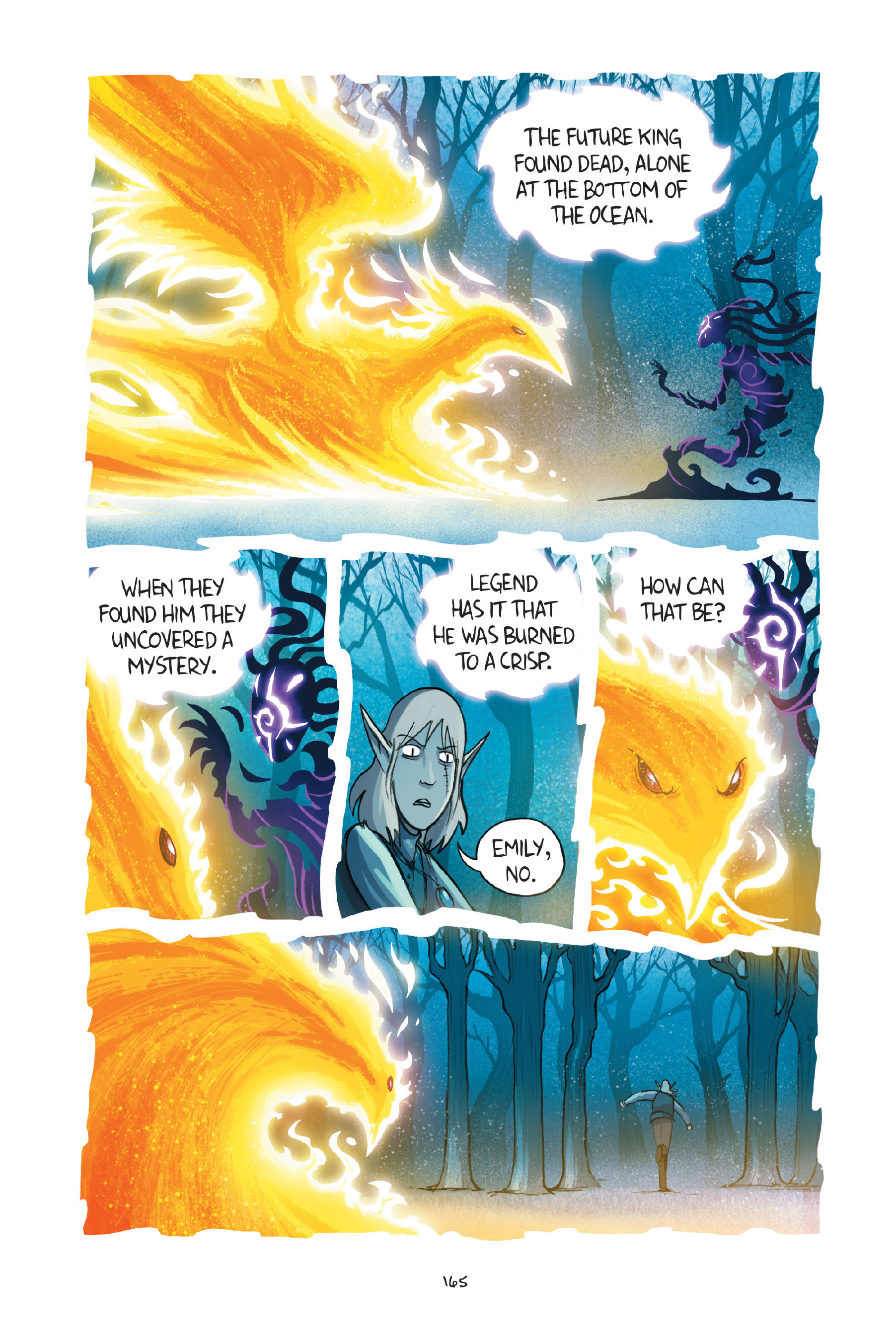 Read online Amulet comic -  Issue #7 - 165