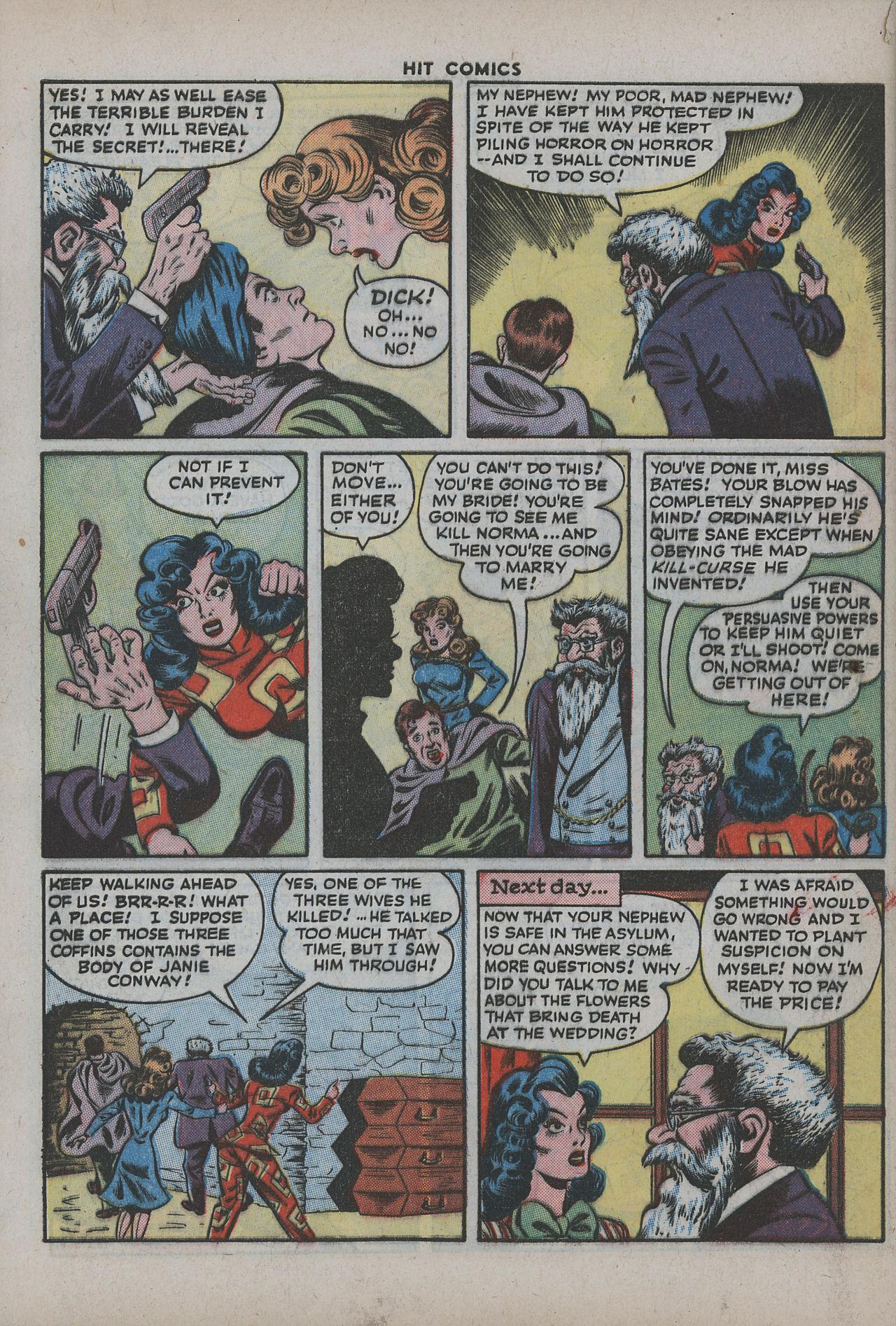 Read online Hit Comics comic -  Issue #38 - 61