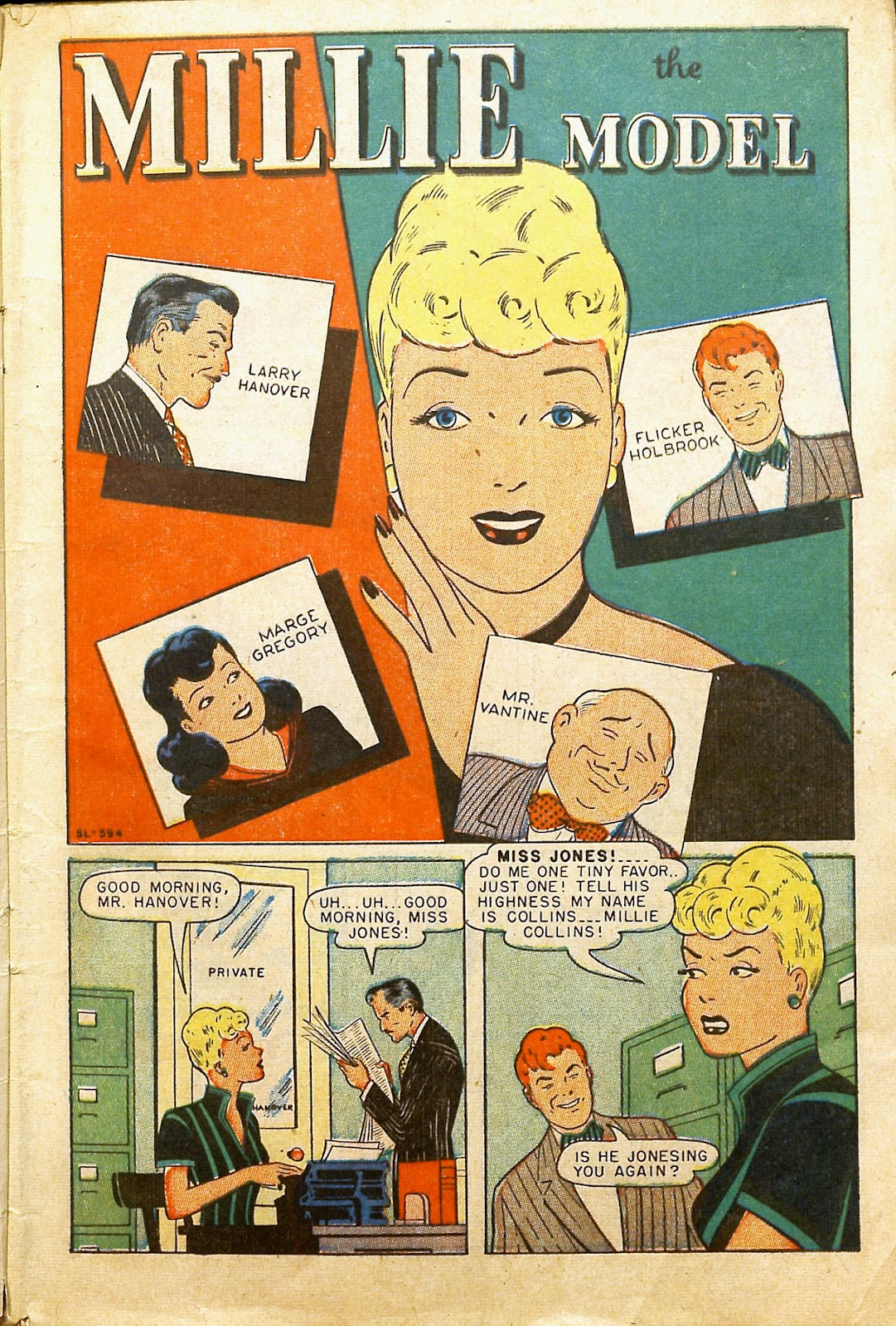 Read online Millie the Model comic -  Issue #2 - 3