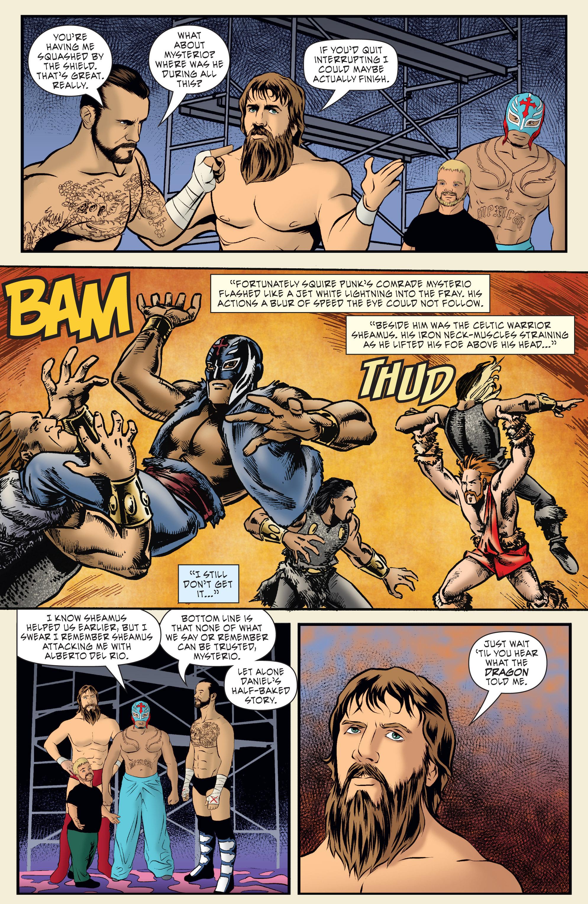 Read online WWE Superstars comic -  Issue #7 - 19