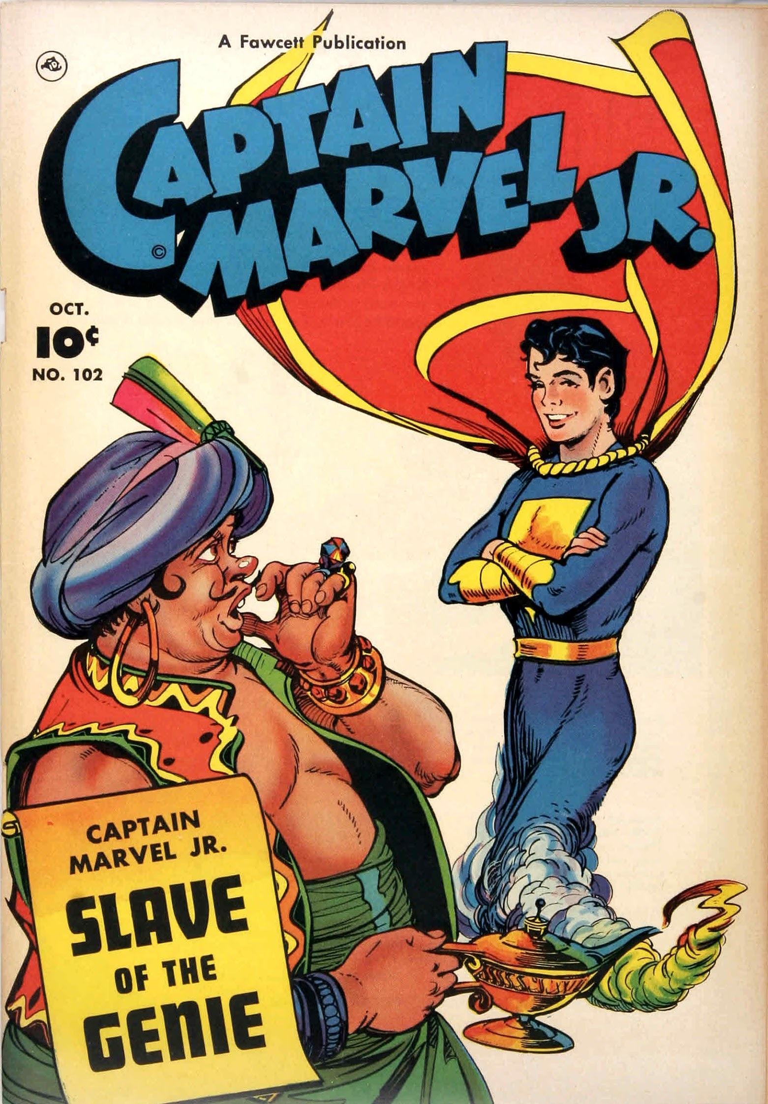 Captain Marvel, Jr. issue 102 - Page 1