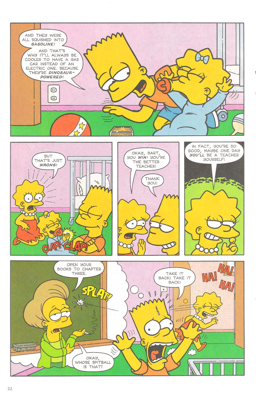 Read online Simpsons Comics comic -  Issue #111 - 23