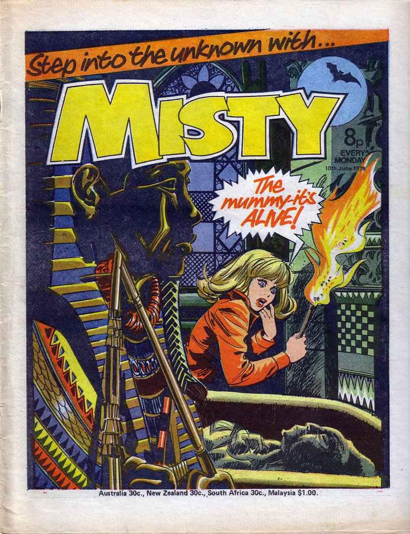 Misty (1978) 19 Page 1