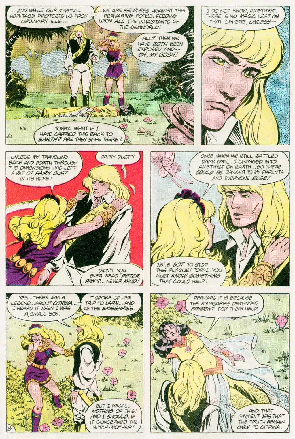Read online Amethyst (1985) comic -  Issue #12 - 11