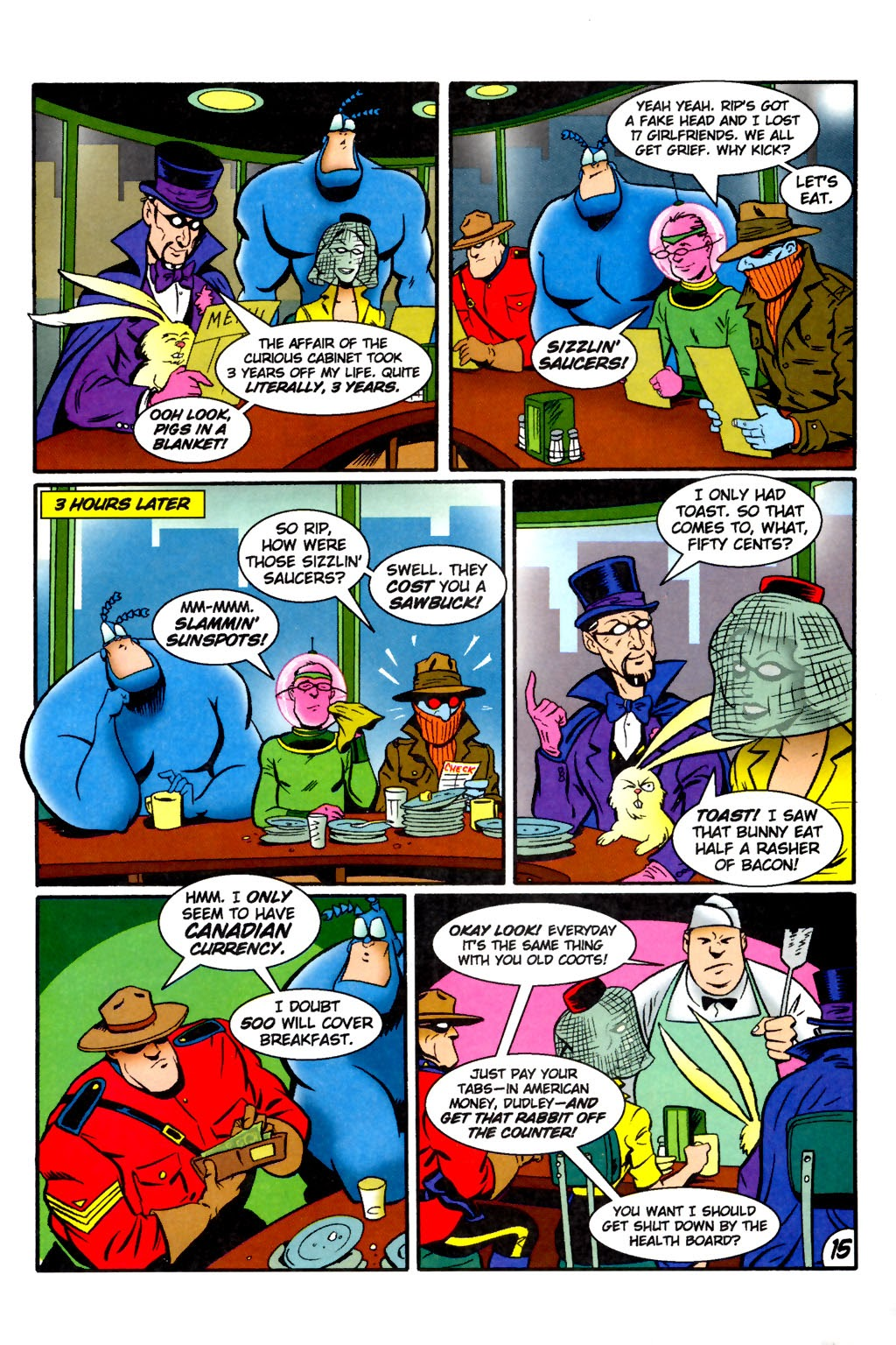 Read online The Tick: Days of Drama comic -  Issue #2 - 17