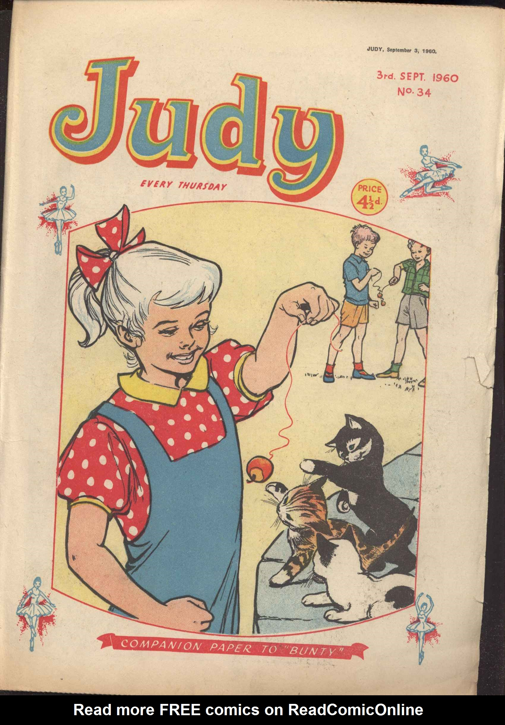 Read online Judy comic -  Issue #34 - 1