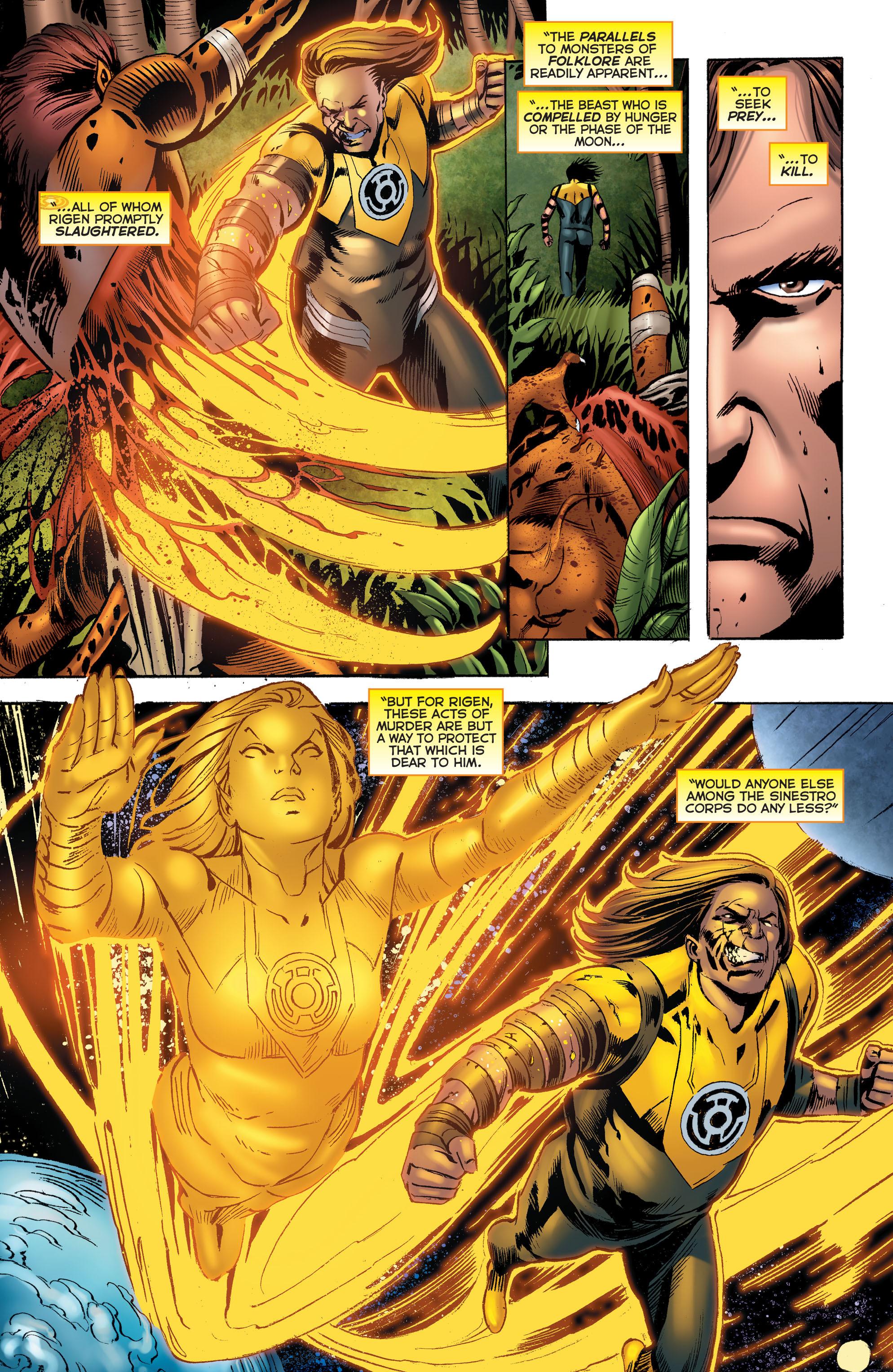 Read online Sinestro comic -  Issue # Annual 1 - 31