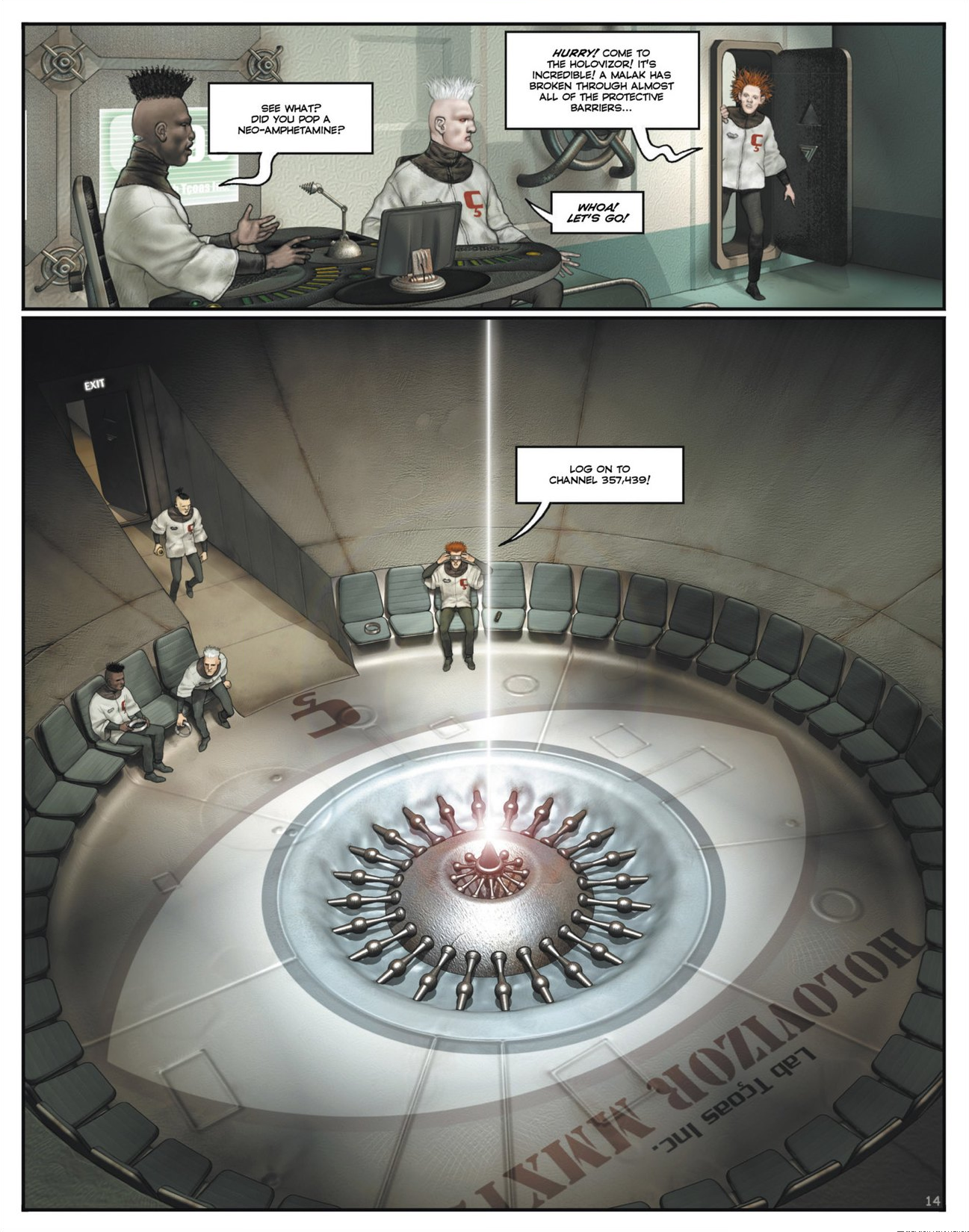 Read online Megalex (2014) comic -  Issue #1 - 19