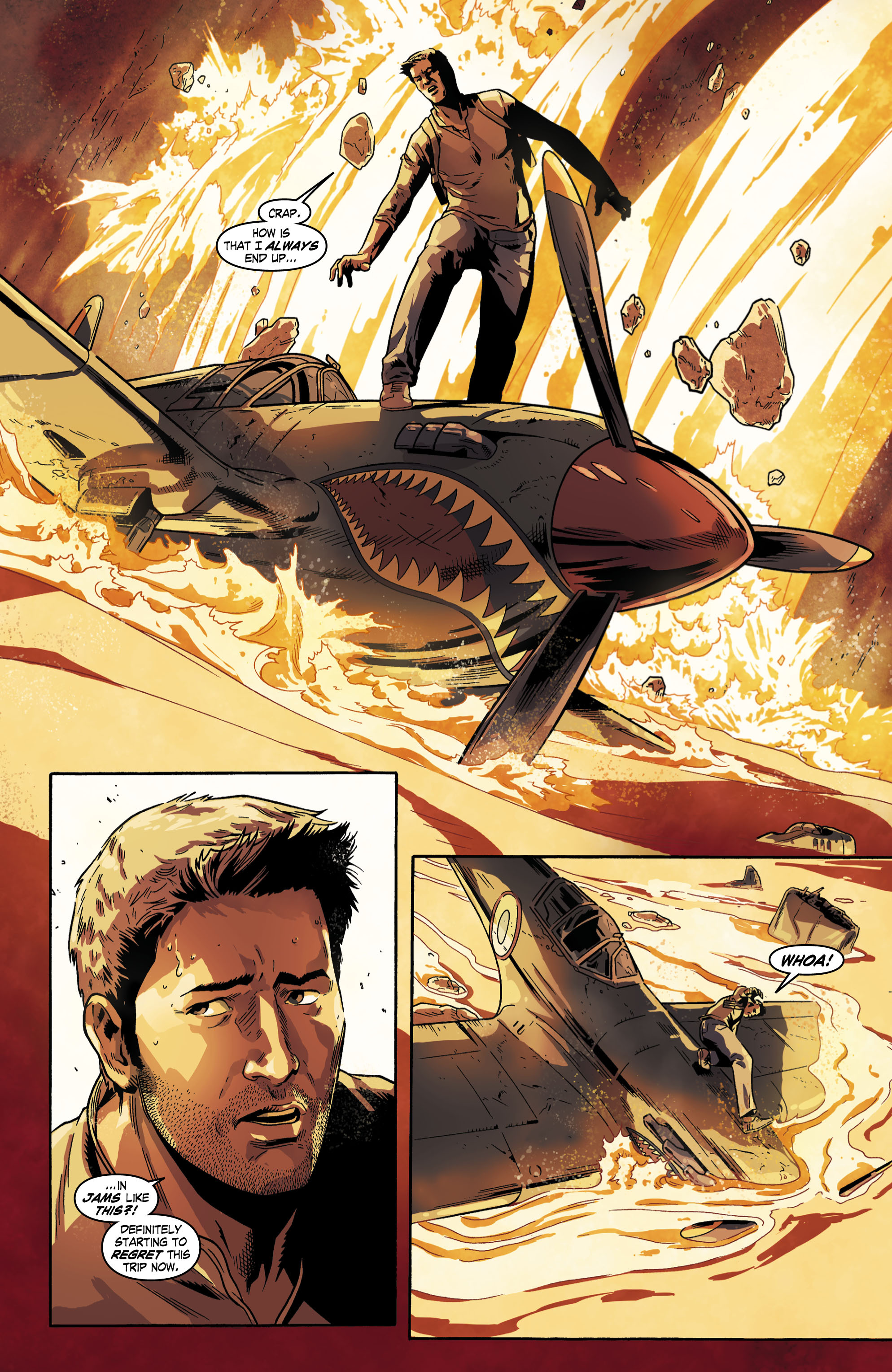 Read online Uncharted comic -  Issue #6 - 11